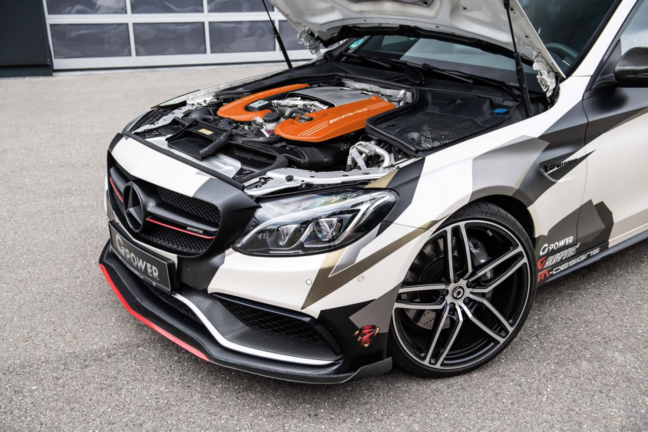 800HP G-Power C 63