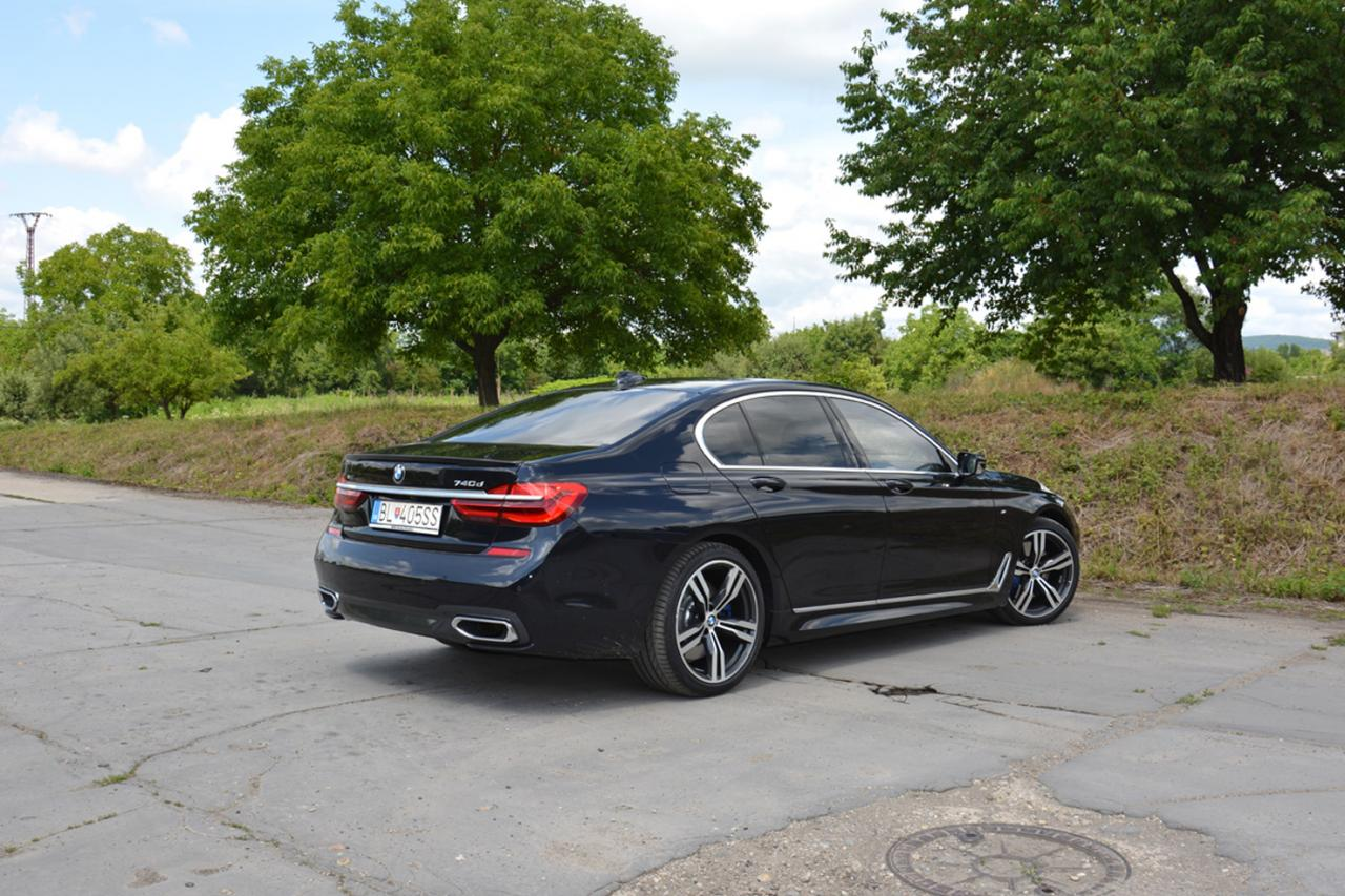 test: BMW 740d xDrive