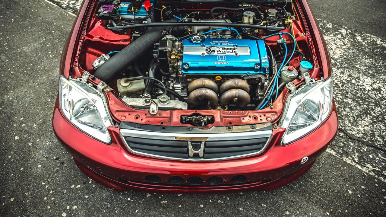 400+HP Civic turbo