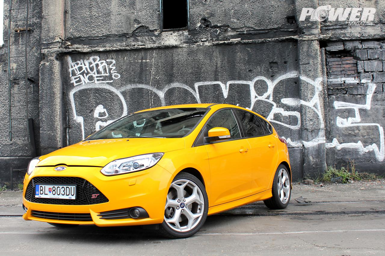 Test Ford Focus ST