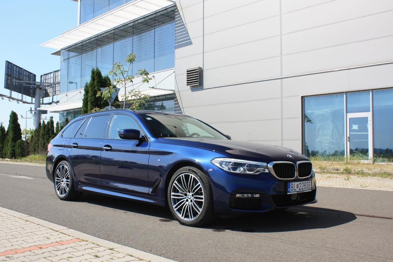 test: BMW 540d xDrive Touring - Superhltač kilometrov