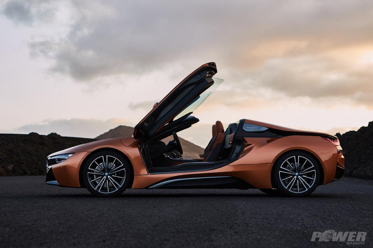 Nové BMW i8 Roadster a Coupe