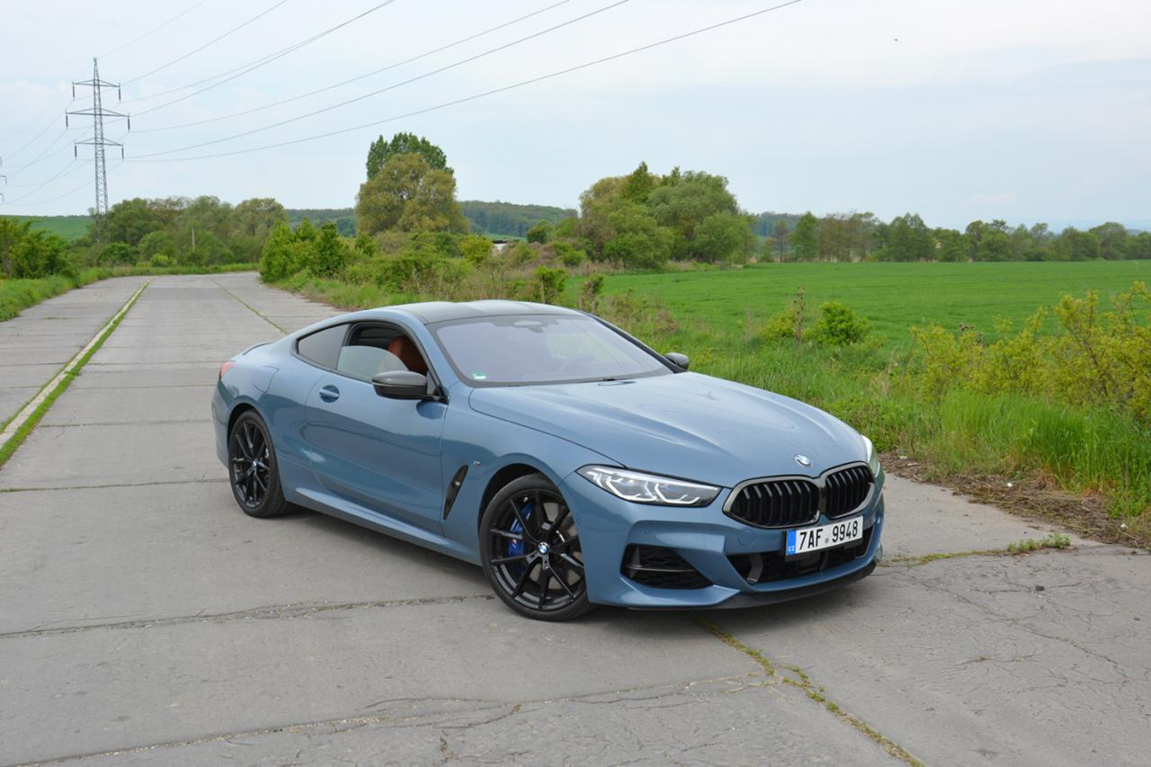 test BMW M850i xDrive Coupe