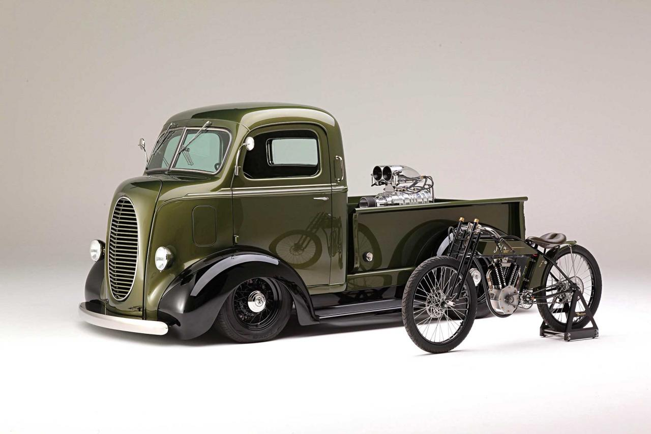 Retro drag: 1939 Ford COE